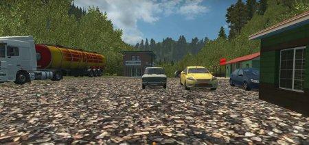 Скачать мод карты Суровая Россия для Euro Truck Simulator 2 1.30: качать на Евро Трак Симулятор
