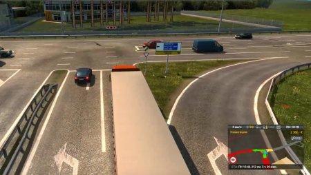 Мод карта Южный Регион для Euro Truck Simulator 2 v. 1.33-1.34: mod для Евр ...