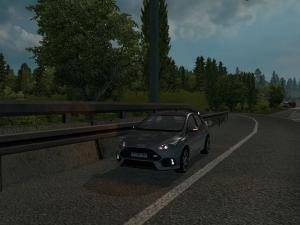 Скачать мод Ford Focus RS v.1.0 для Euro Truck Simulator 2 v. 1.25-1.26