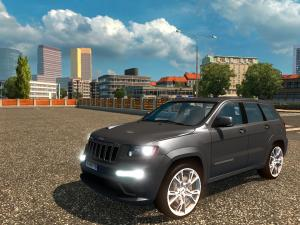 Скачать мод Jeep Grand Cherokee SRT8 v.1.5 для Euro Truck Simulator 2 v. 1. ...