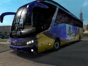 Скачать мод автобус Marcopolo G7 1200 v.2 для Euro Truck Simulator 2 v. 1.2 ...