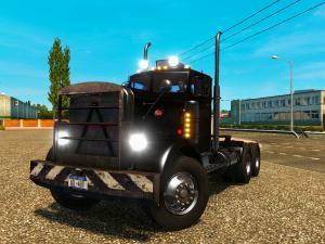 Скачать мод грузовик Peterbilt 351 v.11.07.17 для Euro Truck Simulator 2 v. ...