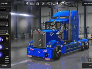 Скачать мод грузовик Kenworth T908 v.6 для Euro Truck Simulator 2 v. 1.26-1 ...