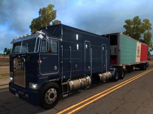 Скачать мод грузовик Kenworth K100 v.20.03.17 для Euro Truck Simulator 2 v. ...