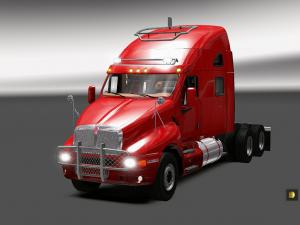Скачать мод грузовик Kenworth Т2000 v.13.06.17 для Euro Truck Simulator 2 v ...