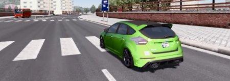 Скачать мод Ford Focus RS Simple v.26.02.17 для Euro Truck Simulator 2 v. 1.26