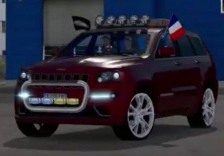 Скачать мод Jeep Grand Cherokee SRT8 v.1.6 для Euro Truck Simulator 2 v. 1. ...