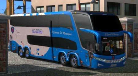 Скачать мод автобус Marcopolo Paradiso G7 1800 DD v.2 для Euro Truck Simulator 2 v. 1.26
