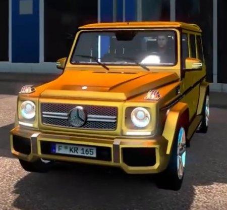 Скачать мод Mercedes-Benz G65 Gelandewagen v.22.04.17 для Euro Truck Simula ...