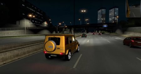 Скачать мод Mercedes-Benz G65 Gelandewagen v.22.04.17 для Euro Truck Simulator 2 v. 1.27