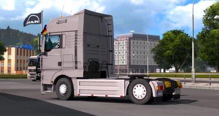 Скачать мод грузовик MAN TGA v.1.4 для Euro Truck Simulator 2 v. 1.27