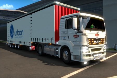 Скачать мод грузовик MAN TGS v.1.3 для Euro Truck Simulator 2 v. 1.27
