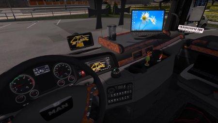 Скачать мод грузовик MAN TGX Euro 6 v.1.9 для Euro Truck Simulator 2 v. 1.27