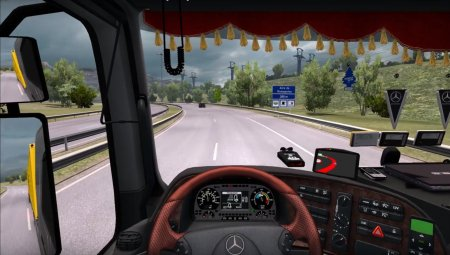 Скачать мод грузовик Mercedes-Benz MP2 v.02.04.17 для Euro Truck Simulator 2 v. 1.27