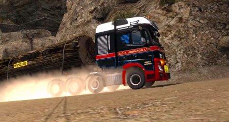 Скачать мод грузовик Mercedes-Benz Big Stars Actros, Arocs SLT v.1.4.7 для Euro Truck Simulator 2 v. 1.27