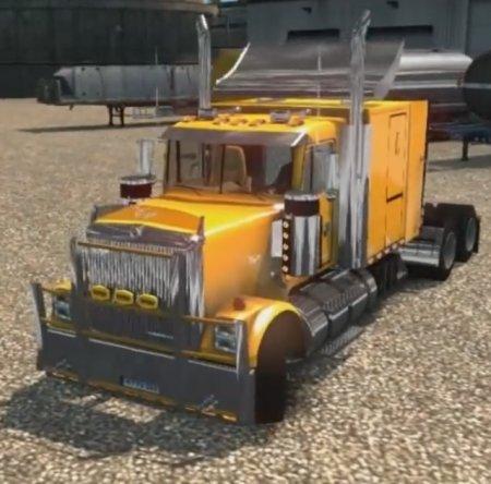 Скачать мод грузовик International Eagle 9300i v.03.03.17 для Euro Truck Si ...