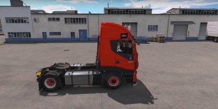 Скачать мод грузовик Iveco Hi-Way Reworked v.1.3.1 для Euro Truck Simulator 2 v. 1.27