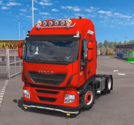 Скачать мод грузовик Iveco Hi-Way Reworked v.1.3.1 для Euro Truck Simulator ...