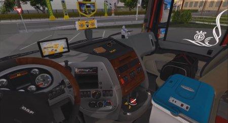 Скачать мод грузовик DAF XF 105 v.4.9 для Euro Truck Simulator 2 v. 1.27