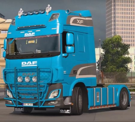 Скачать мод грузовик DAF XF Euro 6 v.08.08.17 для Euro Truck Simulator 2 v. ...