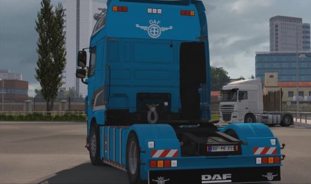 Скачать мод грузовик DAF XF Euro 6 v.08.08.17 для Euro Truck Simulator 2 v. 1.28