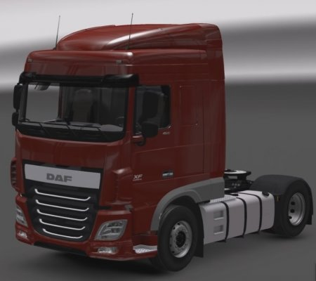 Скачать мод грузовик DAF XF 116 v.19.02.17 для Euro Truck Simulator 2 v. 1. ...