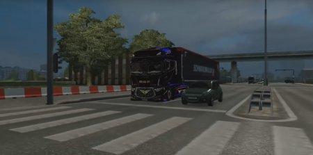 Скачать мод грузовик DAF Evo v.2 для Euro Truck Simulator 2 v. 1.22-1.26