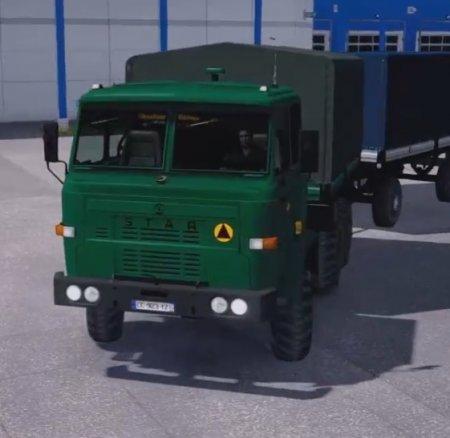 Скачать мод грузовик FSC Star 200 v.02.08.17 для Euro Truck Simulator 2 v.  ...