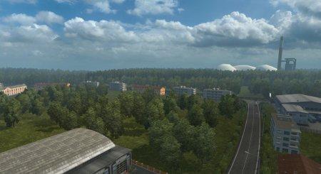 Скачать мод карта «ProRus» v.1.5 для Euro Truck Simulator 2 v. 1.26