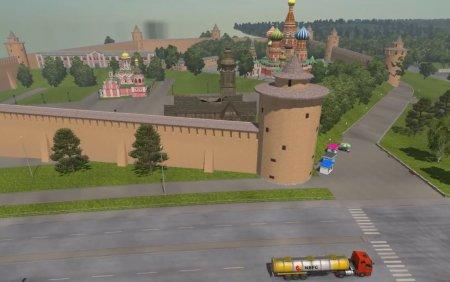 Скачать мод карта «Москва» v.1.1 для Euro Truck Simulator 2 v. 1.25