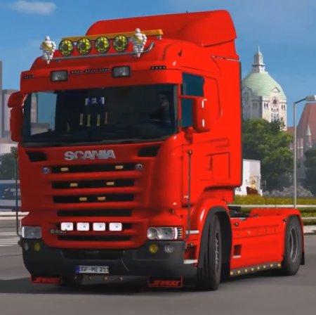 Скачать мод грузовик Scania G v.1.1 для Euro Truck Simulator 2 v. 1.27