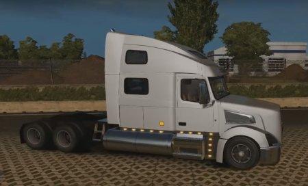 Скачать мод грузовик Volvo VT880 v.3 для Euro Truck Simulator 2 v. 1.24-1.26