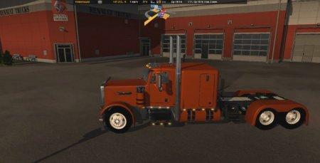 Скачать мод грузовик Peterbilt 379 v.2.6 для Euro Truck Simulator 2 v. 1.27