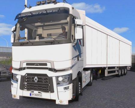 Скачать мод грузовик Renault-T v.6.2 для Euro Truck Simulator 2 v. 1.27