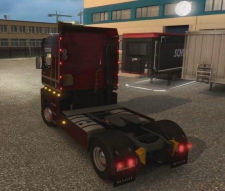 Скачать мод грузовик Renault Magnum Integral 390 v.1.1 для Euro Truck Simulator 2 v. 1.25-1.26
