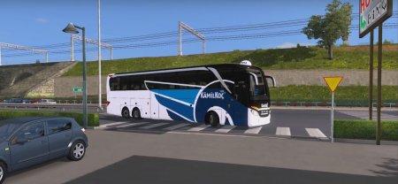 Скачать мод автобус Setra 517 HDH 2017 v.17.06.17 для Euro Truck Simulator 2 v. 1.27