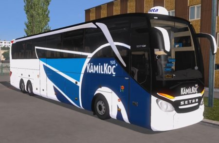 Скачать мод автобус Setra 517 HDH 2017 v.17.06.17 для Euro Truck Simulator  ...