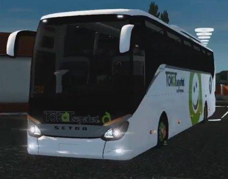Скачать мод автобуса Setra 516 HDH v.21.06.17 для Euro Truck Simulator 2 v. ...