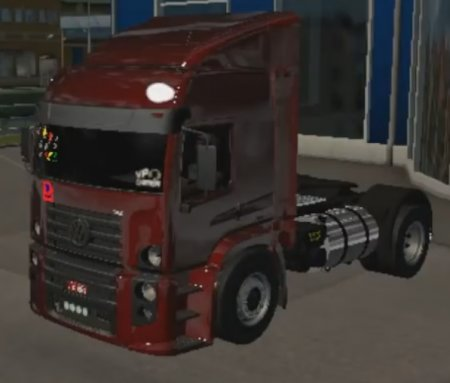 Скачать мод грузовик Volkswagen Constellation XLX + Chrome Trailer для Euro Truck Simulator 2 v. 1.26