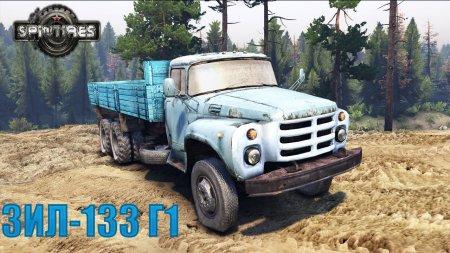 Скачать мод грузовик ЗИЛ-133 Г1 SV для Spintires v. 03.03.16