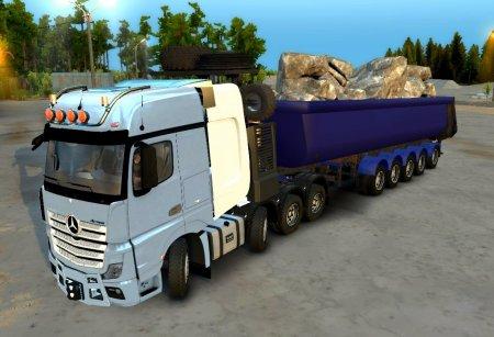 Скачать мод ПАК грузовиков Европейцев для Spintires v. 03.03.16