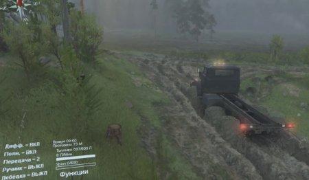 Скачать мод грузовик Урал-4320-41 версия 6 для Spintires v. 03.03.16