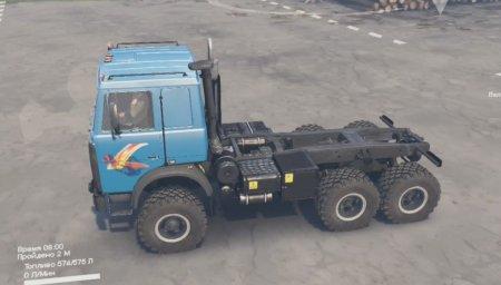 Скачать мод грузовик Маз-6425 SV версия 2 для Spintires v. 03.03.16