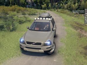 Скачать мод Volvo-XC90 2009 для Spintires v. 03.03.16