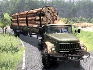 Скачать мод ПАК грузовиков ЗиЛ «Legend of the army» для Spintires v. 03.03. ...