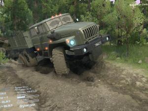 Скачать мод грузовик Урал-4320-1912-60 для Spintires v. 03.03.16