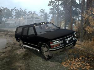 Скачать мод Chevrolet Suburban GMT400 для Spintires MudRunner