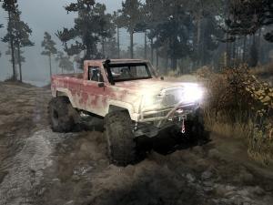 Скачать мод ПАК Jeep Truggy для Spintires MudRunner