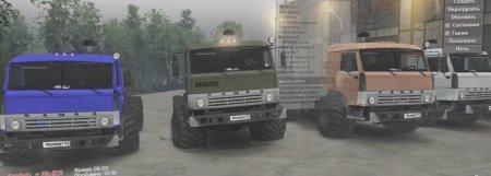 Скачать мод грузовиков Камаз-43114 версия 23.08.17 для Spintires v. 03.03.1 ...