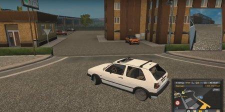 Скачать мод Volkswagen Golf GTI v.02.02.17 для Euro Truck Simulator 2 v. 1.24-1.26